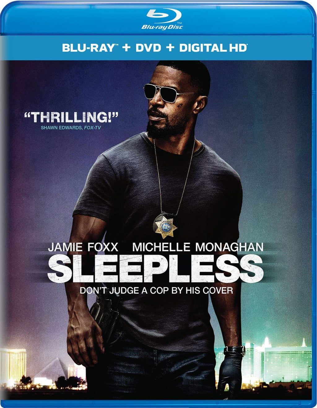 Sleepless Blu-ray + DVD + Digital HD