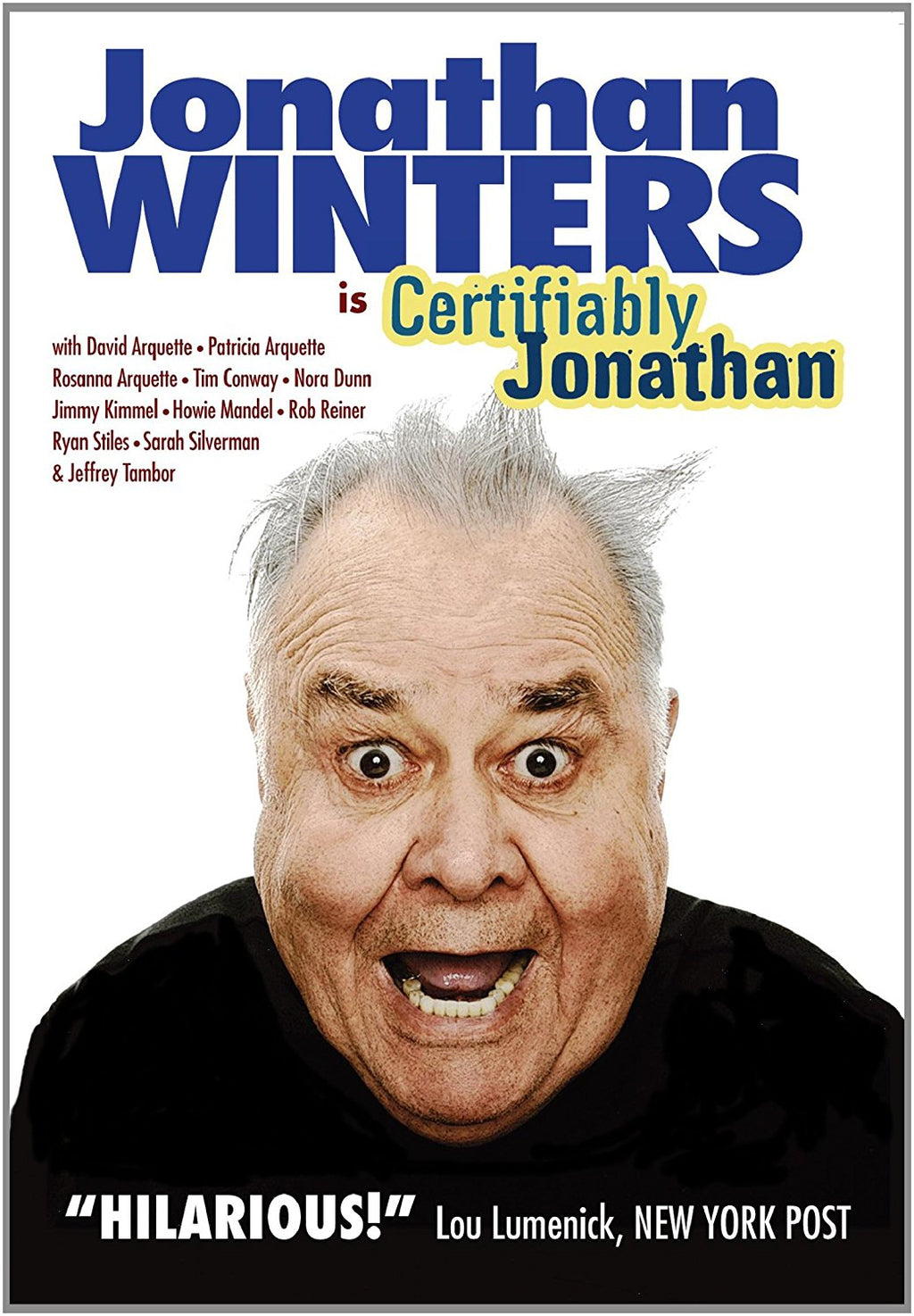 Certifiably Jonathan DVD