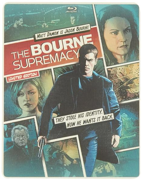 The Bourne Supremacy Blu-ray + DVD Steelbook (DENTED-MINOR)