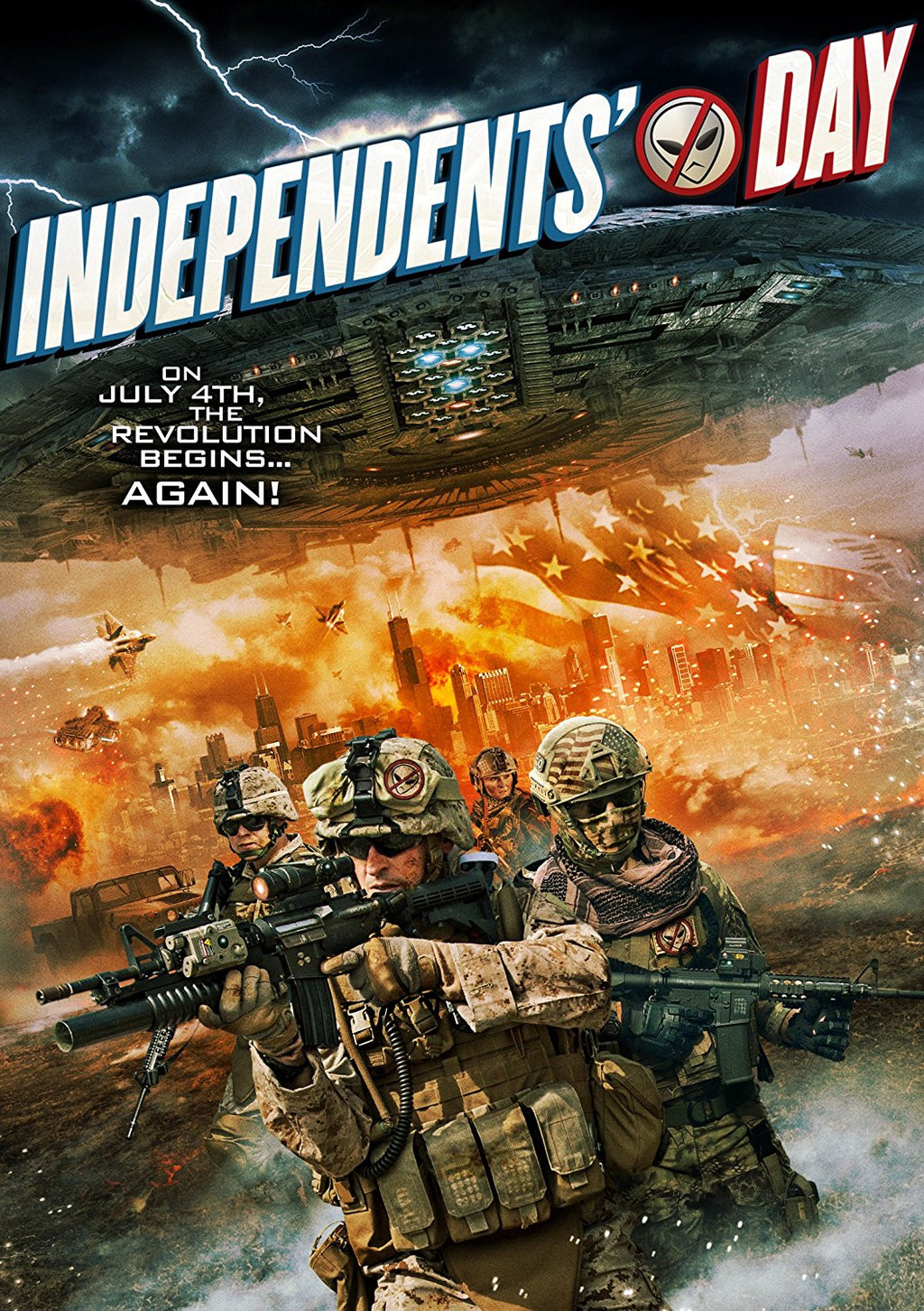 Independent's Day DVD