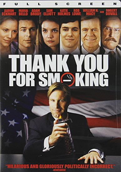 Thank You For Smoking DVD (FULL SCREEN)