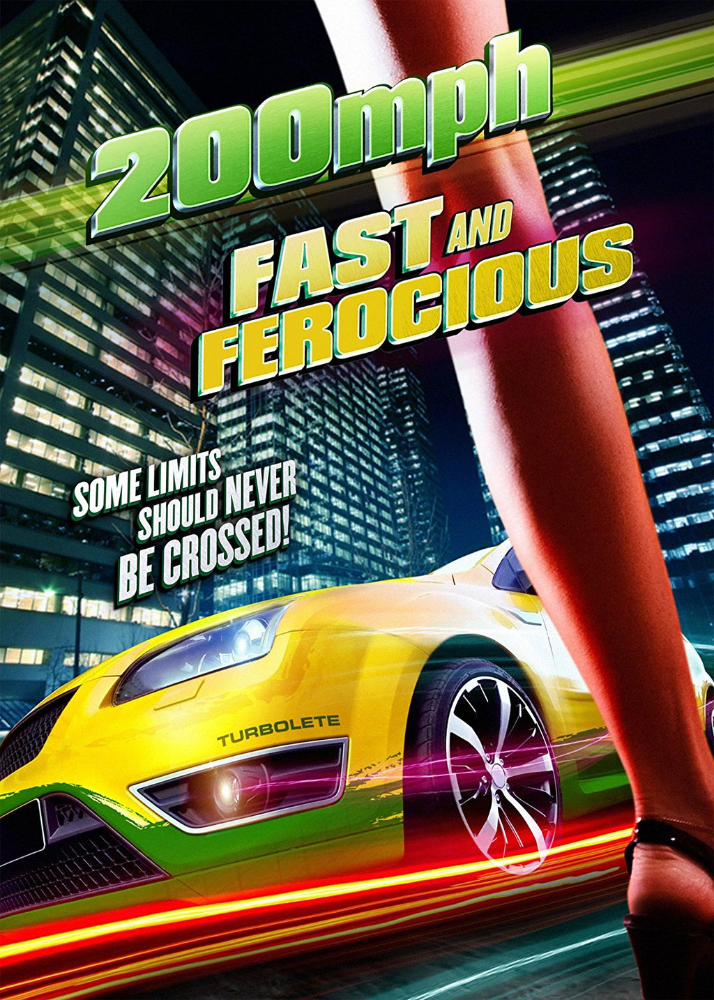 200 MPH: Fast and Ferocious DVD