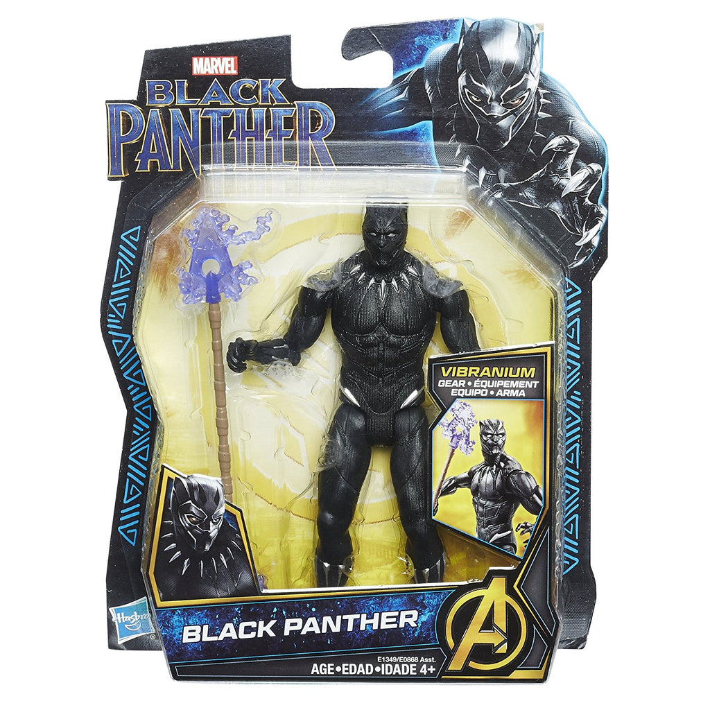"Marvel Black Panther 6"" Figure (Hasbro)"