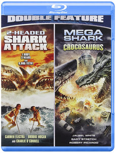 2-Headed Shark Attack / Mega Shark VS Crocosaurus (Double Feature) Blu-ray