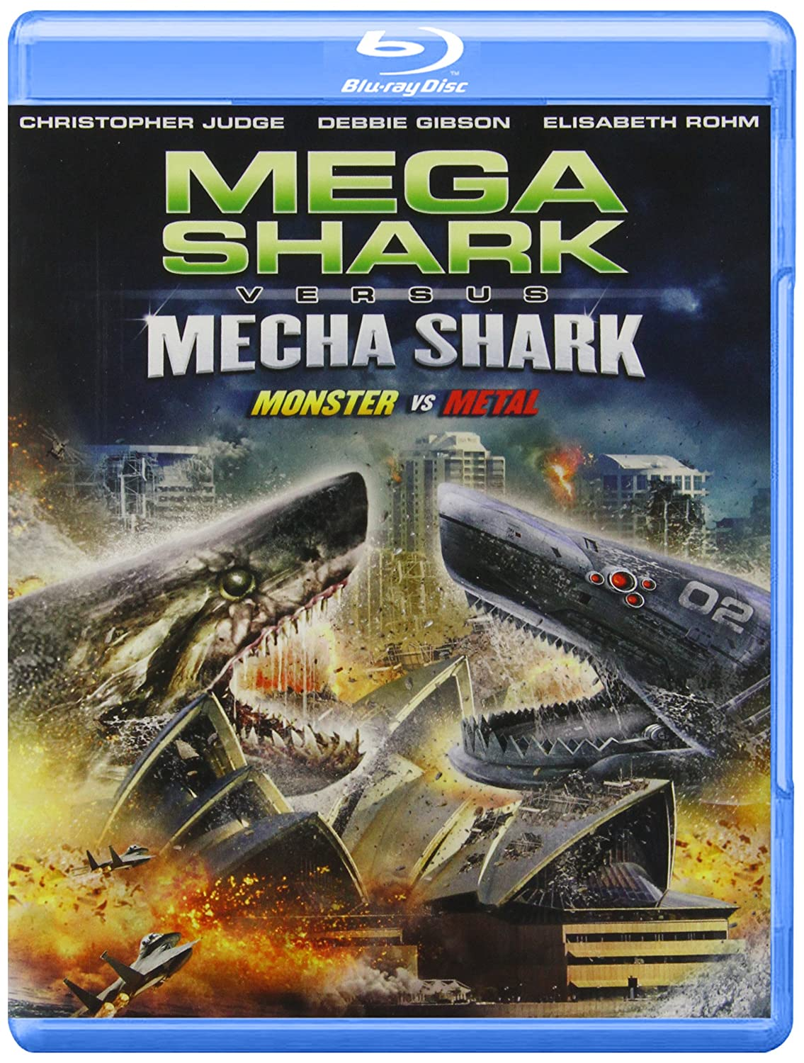 Mega Shark VS Mecha Shark Blu-ray