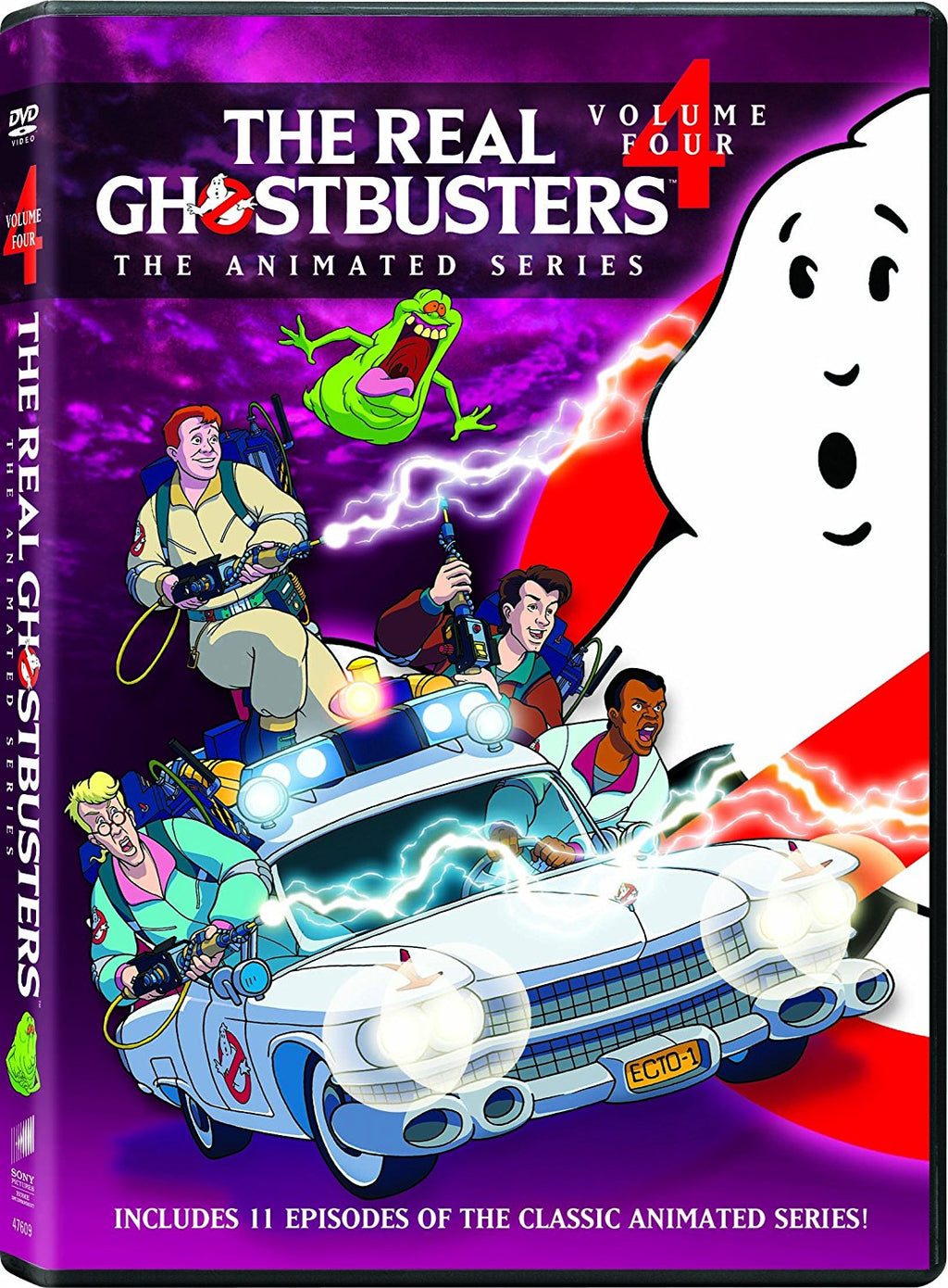 The Real Ghostbusters Vol. 4 DVD