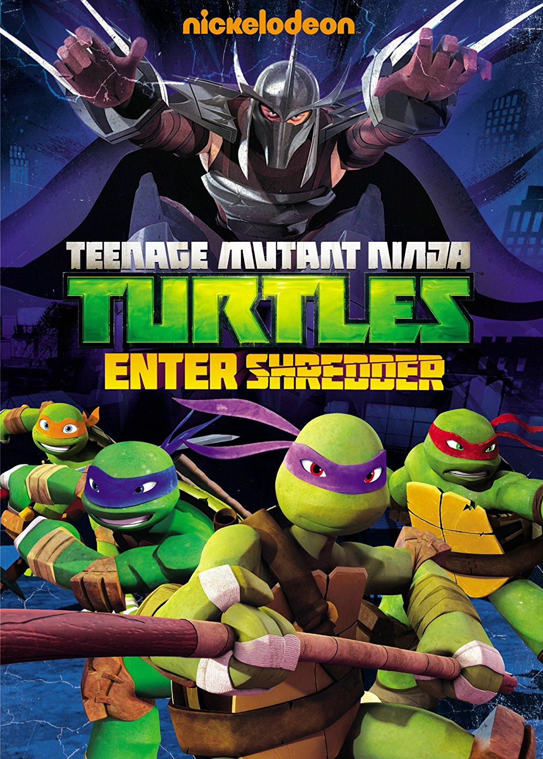 Teenage Mutant Ninja Turtles: Enter Shredder DVD