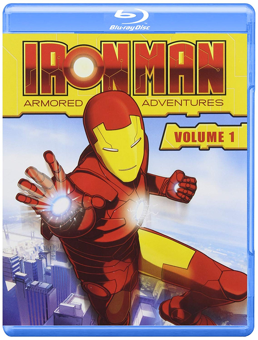 Iron Man: Armored Adventures Vol. 1 Blu-ray