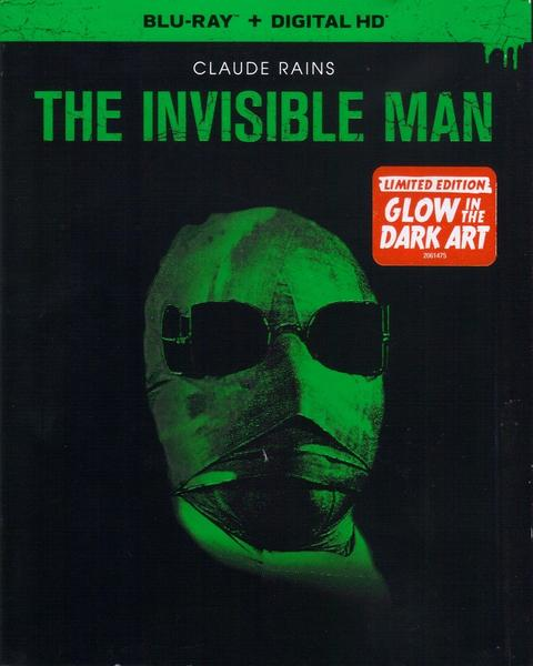 The Invisible Man Blu-ray + Digital (DAMAGED SLIPCOVER)