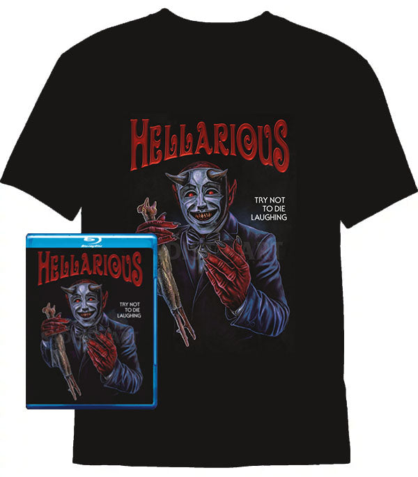 Hellarious Blu-ray and T-Shirt Bundle