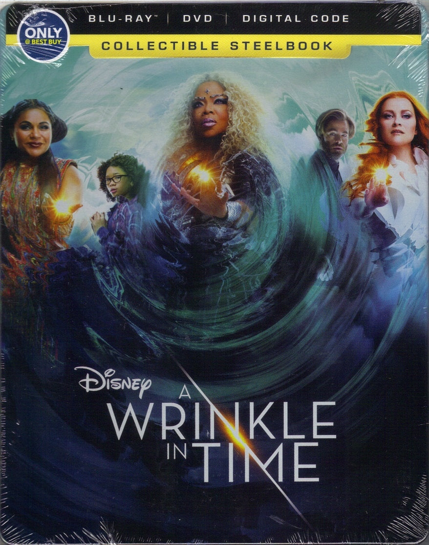 A Wrinkle in Time Blu-ray / DVD / Digital Collectible (Best Buy Exclusive) Steelbook