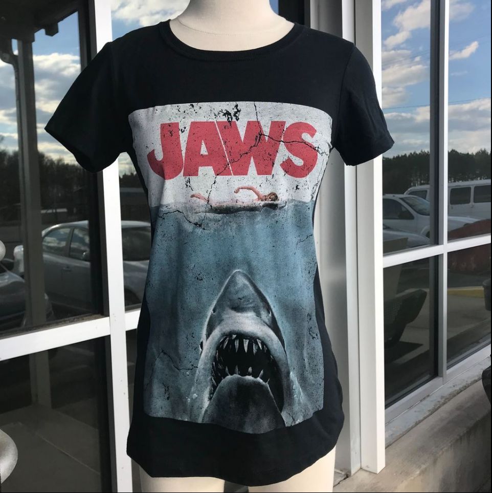 Coffin Box #4 JAWS T-Shirt