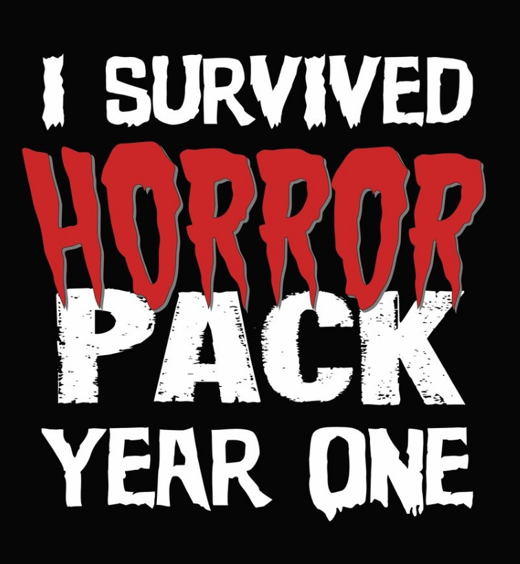 """I Survived Horror Pack Year One"" T-Shirt"