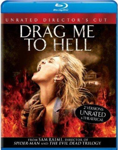 Drag Me to Hell (Unrated Director's Cut) Blu-ray (TORN PAPER)