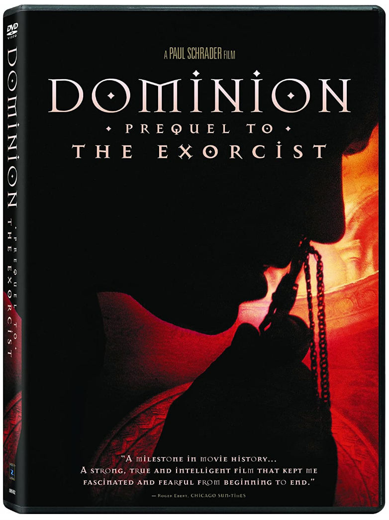 Dominion: Prequel to the Exorcist DVD (TORN PAPER)