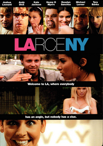 Larceny DVD (TORN PAPER / CASE DAMAGE)
