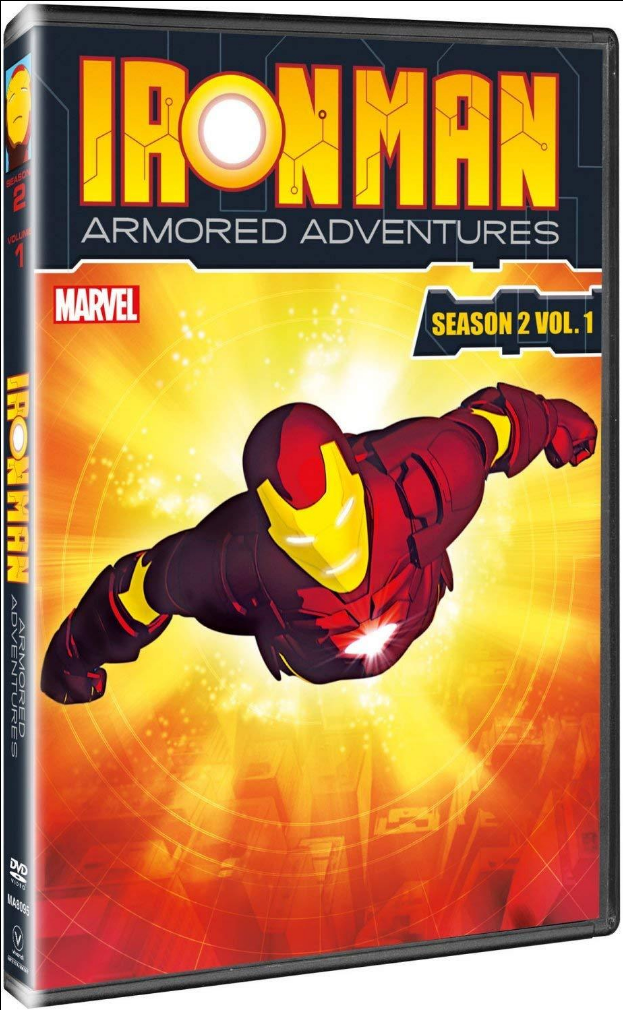 Iron Man: Armored Adventures - Season 2, Vol. 1 DVD (TORN PAPER)