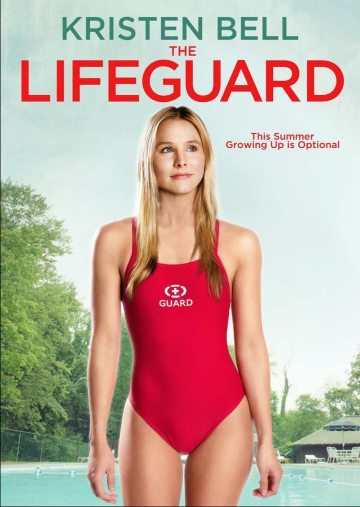 Lifeguard DVD (TORN PAPER)