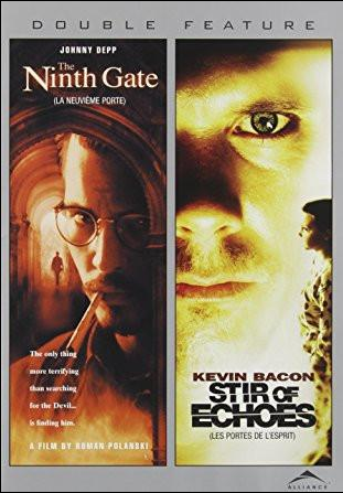 Stir of Echoes / The Ninth Gate Double Feature DVD (TORN PAPER)