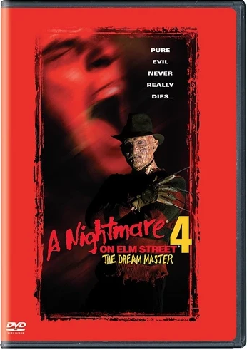 A Nightmare on Elm Street 4: The Dream Master DVD (TORN PAPER / CUT UPC)