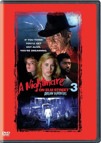 A Nightmare on Elm Street 3: Dream Warriors DVD (TORN PAPER / CUT UPC)