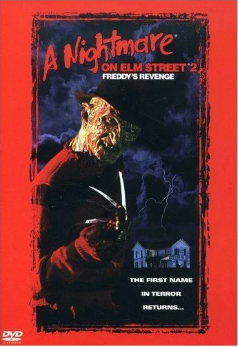 A Nightmare on Elm Street 2: Freddy's Revenge DVD (TORN PAPER / CUT UPC)