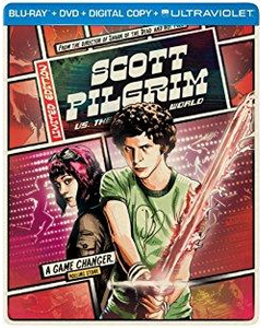 Scott Pilgrim VS. the World Blu-ray + DVD Steelbook (BROKEN SPOKE - DISC WILL SHIP IN SEPARATE CASE)