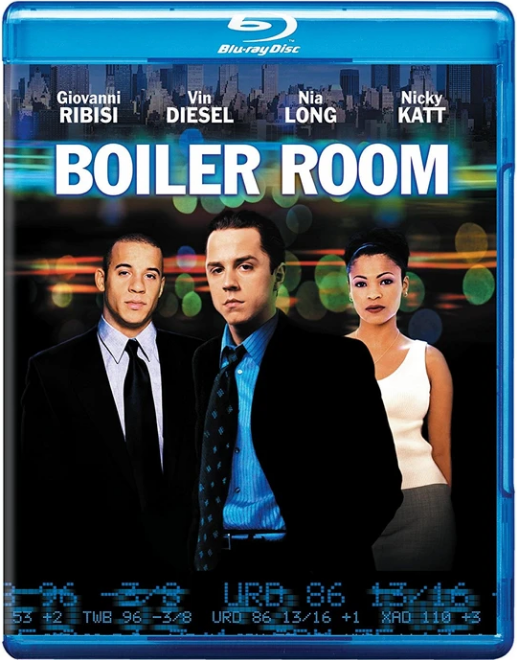 Boiler Room Blu-ray (CUT UPC)