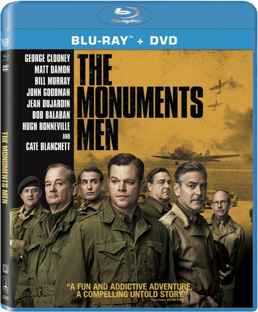 The Monuments Men Blu-ray + DVD