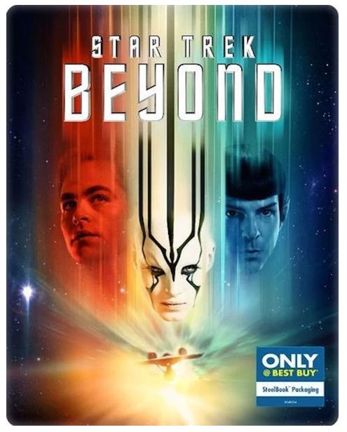 Star Trek Beyond Blu-ray + DVD + Digital HD Steelbook (DENTED-MINOR)