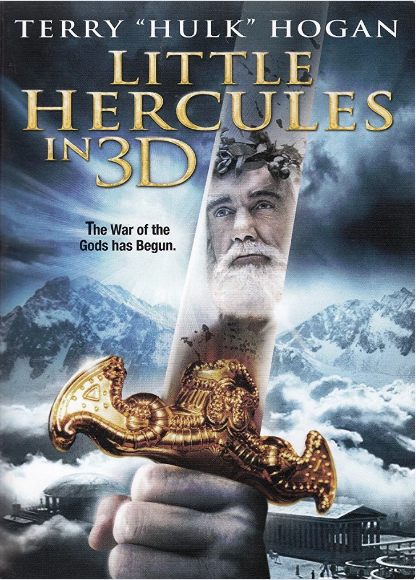 Little Hercules in 3D DVD (TORN PAPER)