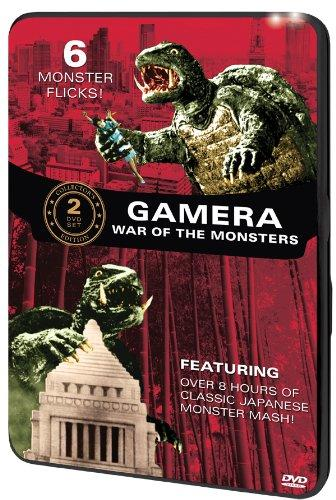 Gamera: War of the Monsters (6-Movie Tin) DVD 2-Disc Set - (DENTED - MINOR)