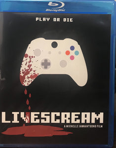 Livescream Blu-ray Retail Cover (Not Limited Edition)