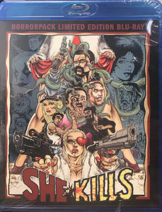 She Kills - HorrorPack Limited Edition Blu-ray #33