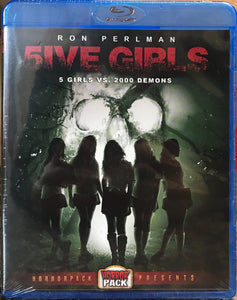 5ive Girls - HorrorPack Presents Blu-ray