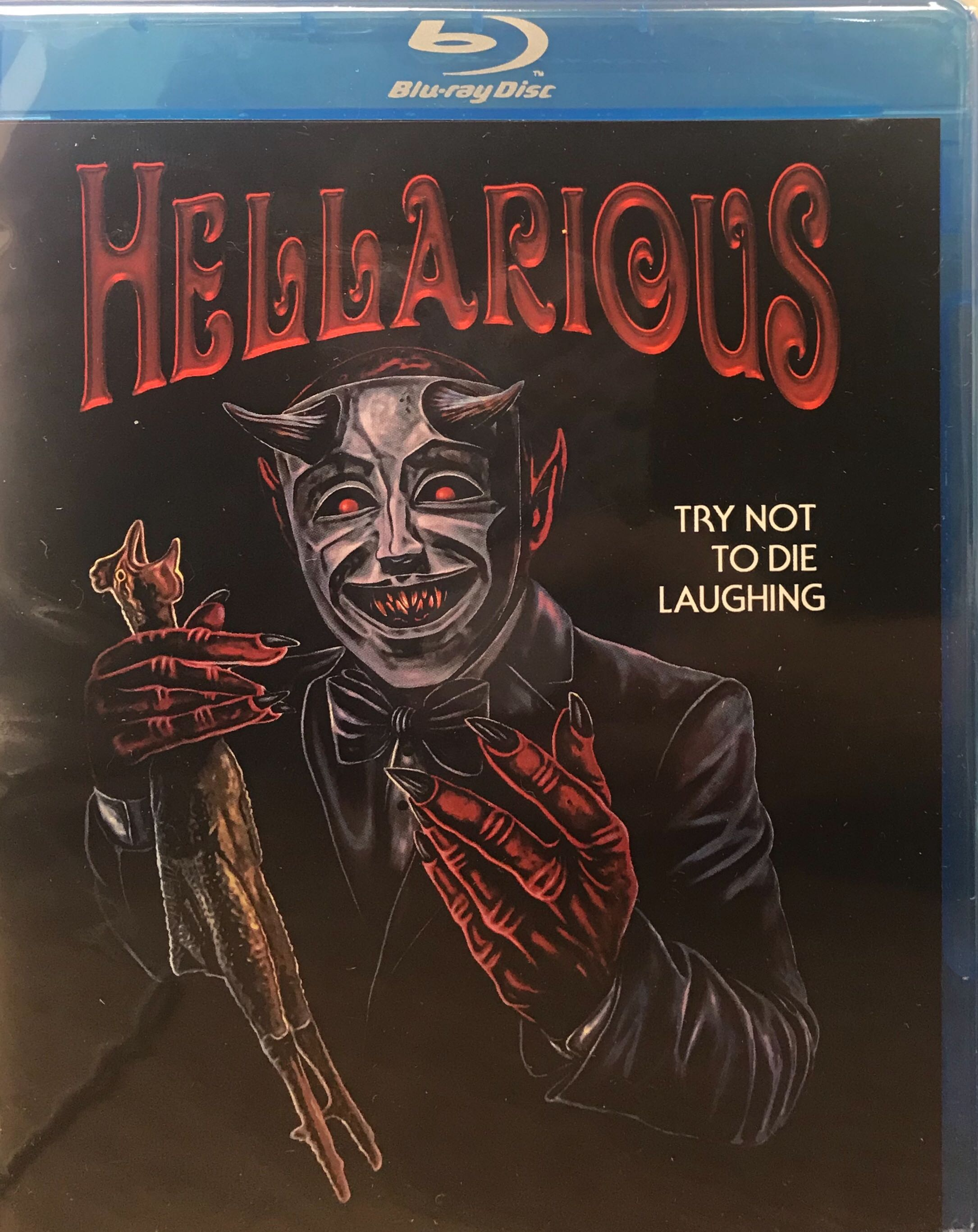 Hellarious Blu-ray Retail Cover (Not Limited Edition)
