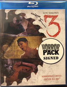 Lou Simon's 3 - HorrorPack Limited Edition (SIGNED) Blu-ray #29