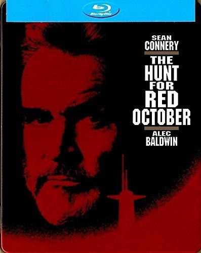 The Hunt for Red October Blu-ray Steelbook (DENTED - MINOR)