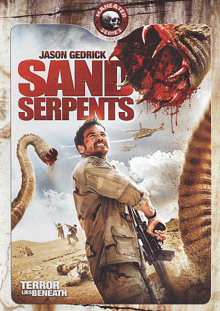 Sand Serpents DVD