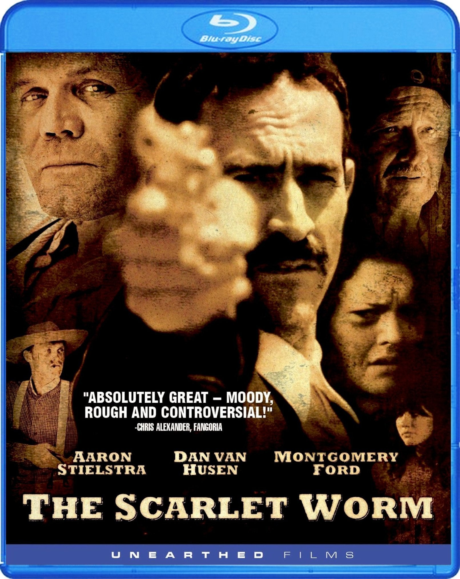 The Scarlet Worm Blu-ray