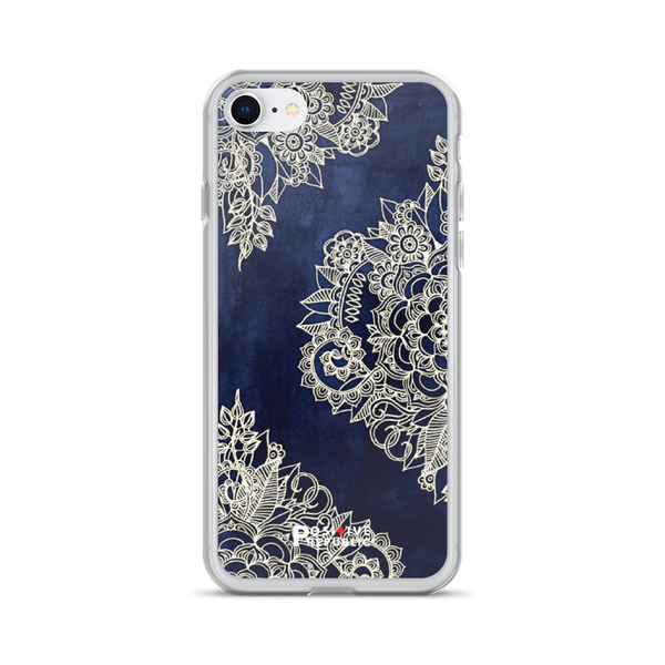 iPhone 7 - Navy Mandala