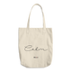 Calm -  Denim Woven Cotton Tote