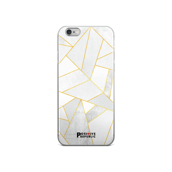 iPhone 6 Cases - White Stone - Positive Republic