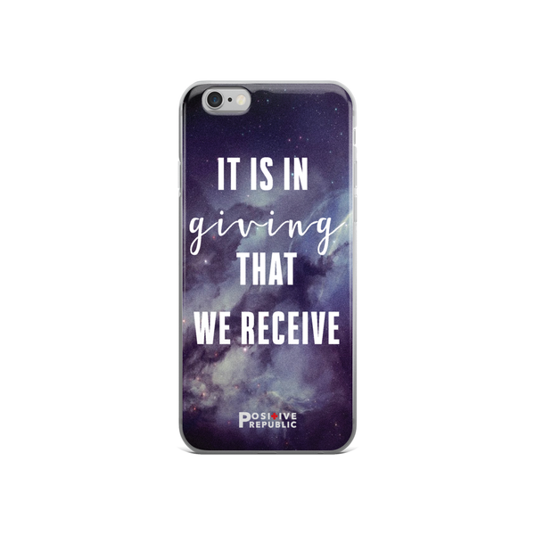 iPhone 6 cases - Giving Collection - Positive Republic