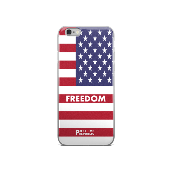 iPhone 6 cases - American Pride Collection- Freedom - Positive Republic