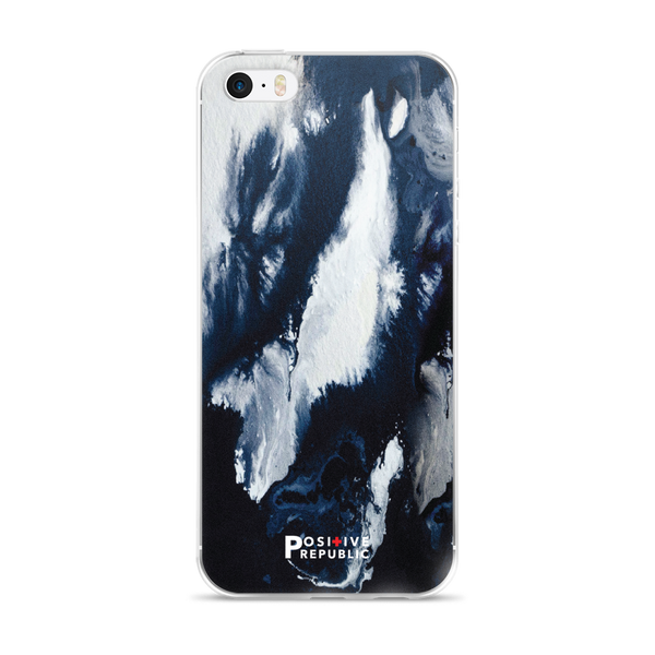 iPhone SE - Navy Marble