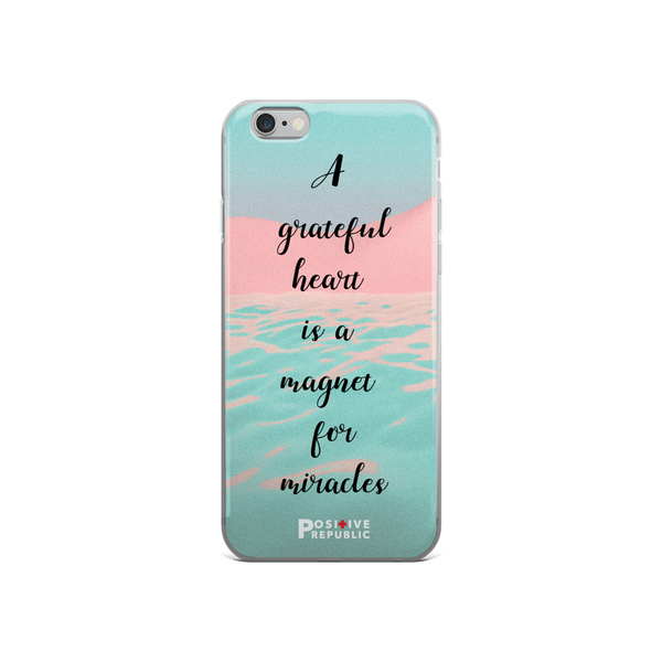 iPhone 6 cases - Gratitude Collection - Positive Republic
