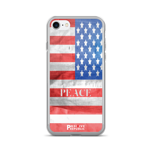 iPhone 7 cases - American Pride Collection- Peace - Positive Republic