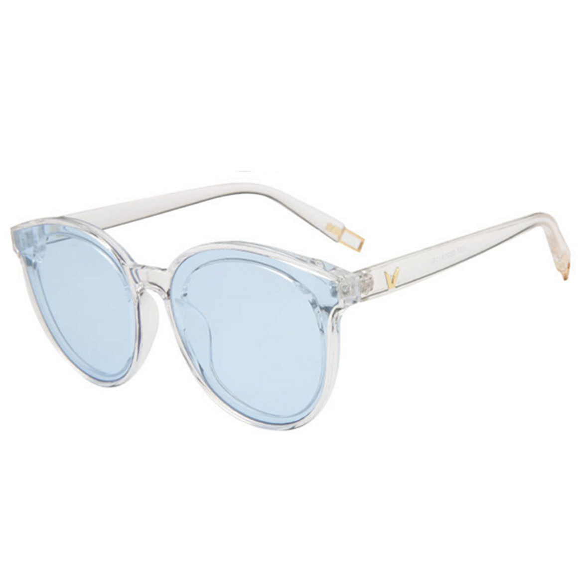 af9bb2a2360 Glasses have clear blue lenses and frame sunglasses womens mens ray ban  ebay black round india