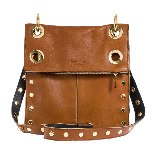 Montana Reversible Black/Cognac with Gold Hardware